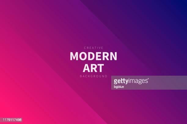 moderner abstrakter hintergrund - rosa farbverlauf - marineblau stock-grafiken, -clipart, -cartoons und -symbole