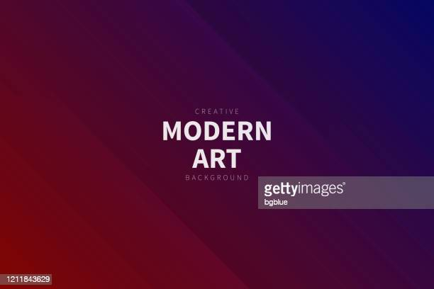 modern abstract background - red gradient - red and blue background stock illustrations