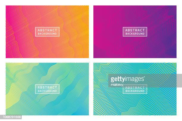 modern abstract backgrounds lines - focus on background stock illustrations