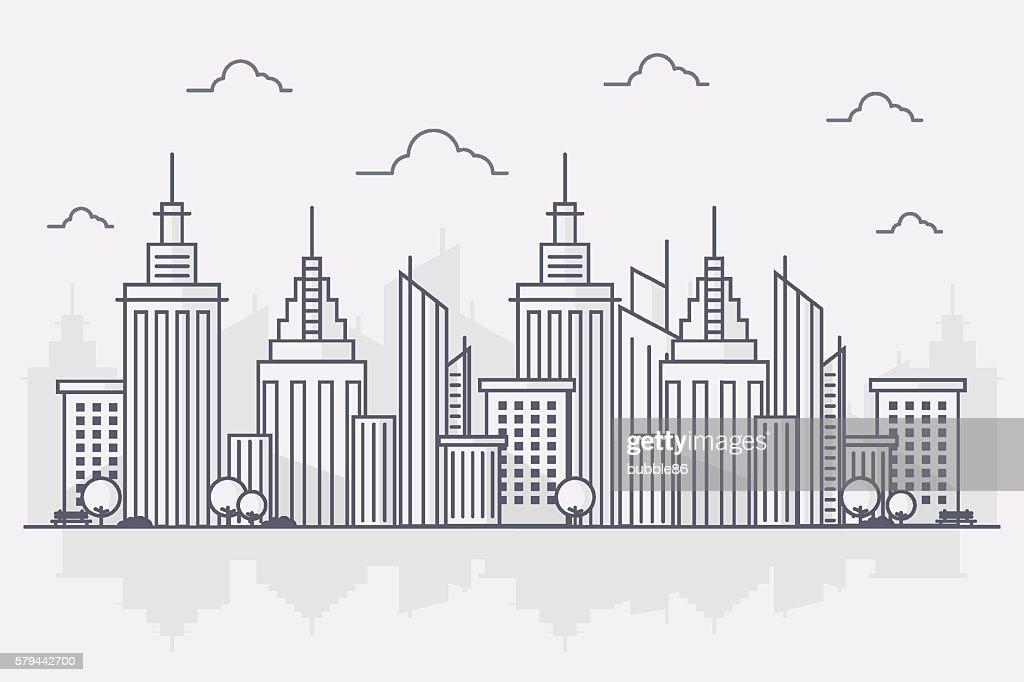 Modern Big City