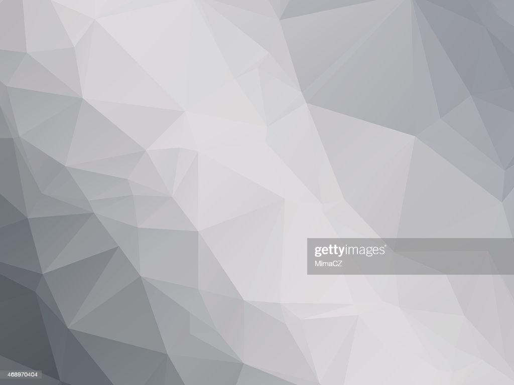 modern black white gray triangular background