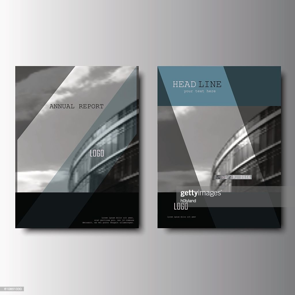 modern brochure deisgn annual report cover vector leaflet ベクトル
