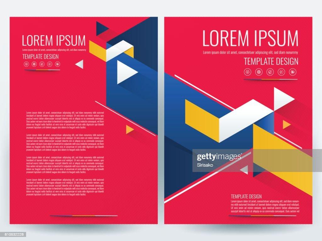 Moderne Businessbroschürevorlage Entwerfen Flyer Vorlage Magazin ...
