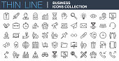 Modern Business Icons Collection