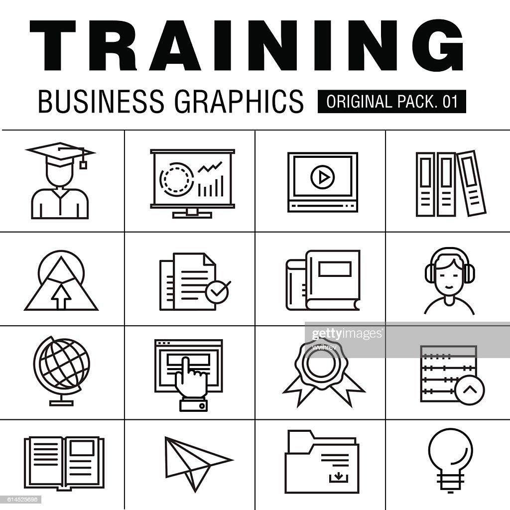 Modern business training pack.