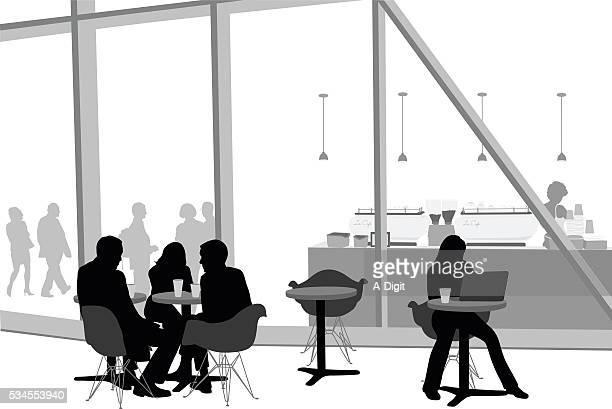 Modern Cafe Friends