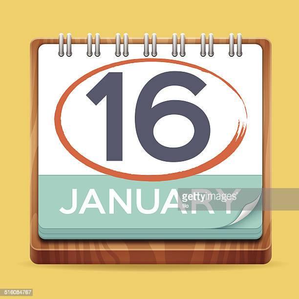 modern calendar - today single word stock illustrations