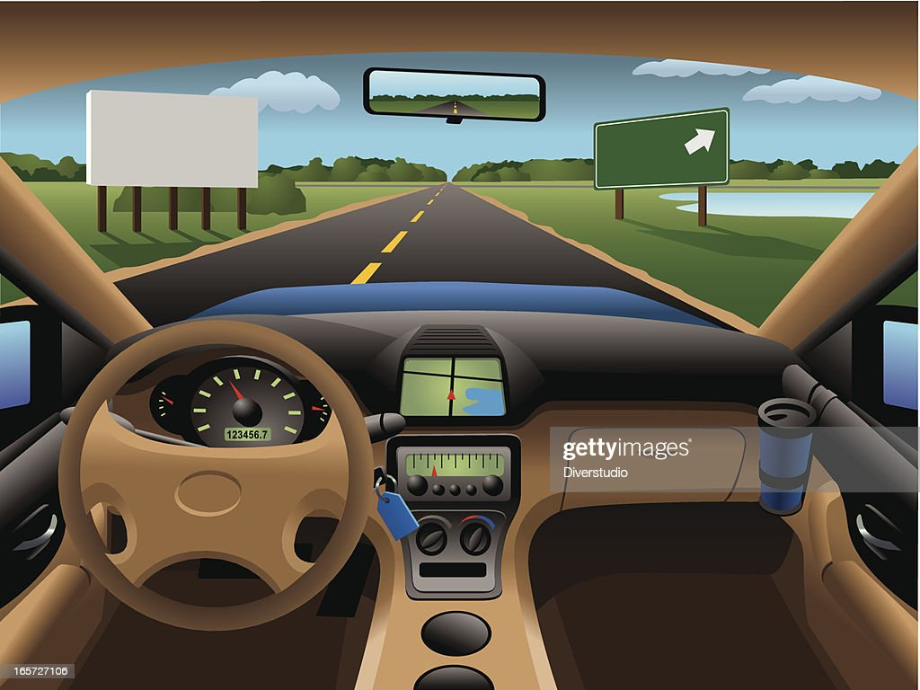 modern car dashboard vector art getty images. Black Bedroom Furniture Sets. Home Design Ideas