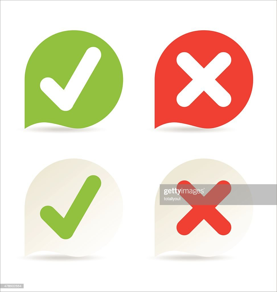 Modern Check Mark Icons