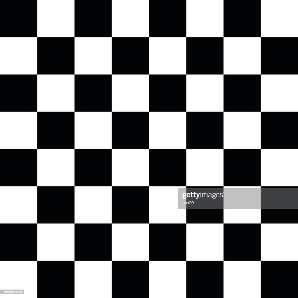 Modern chess board background. Vector