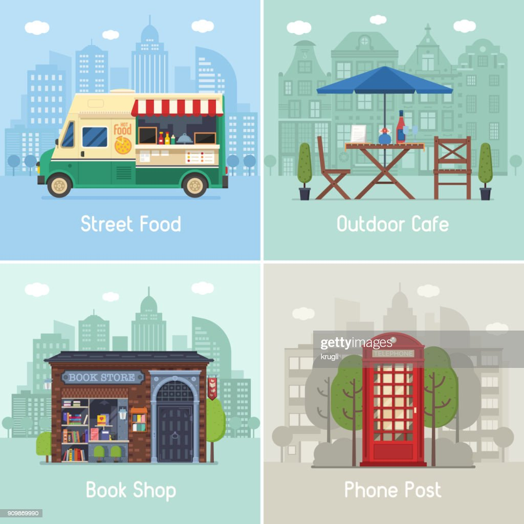 Modern City Places and Spots
