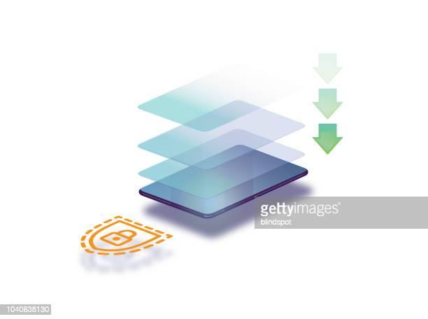 現代のコミュニケーション デザイン - 受ける点のイラスト素材/クリップアート素材/マンガ素材/アイコン素材