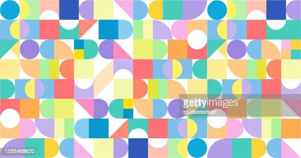modernes design vielfalt promo banner vektor design - bildschirmpräsentation stock-grafiken, -clipart, -cartoons und -symbole