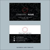 Modern designer business card layout templates