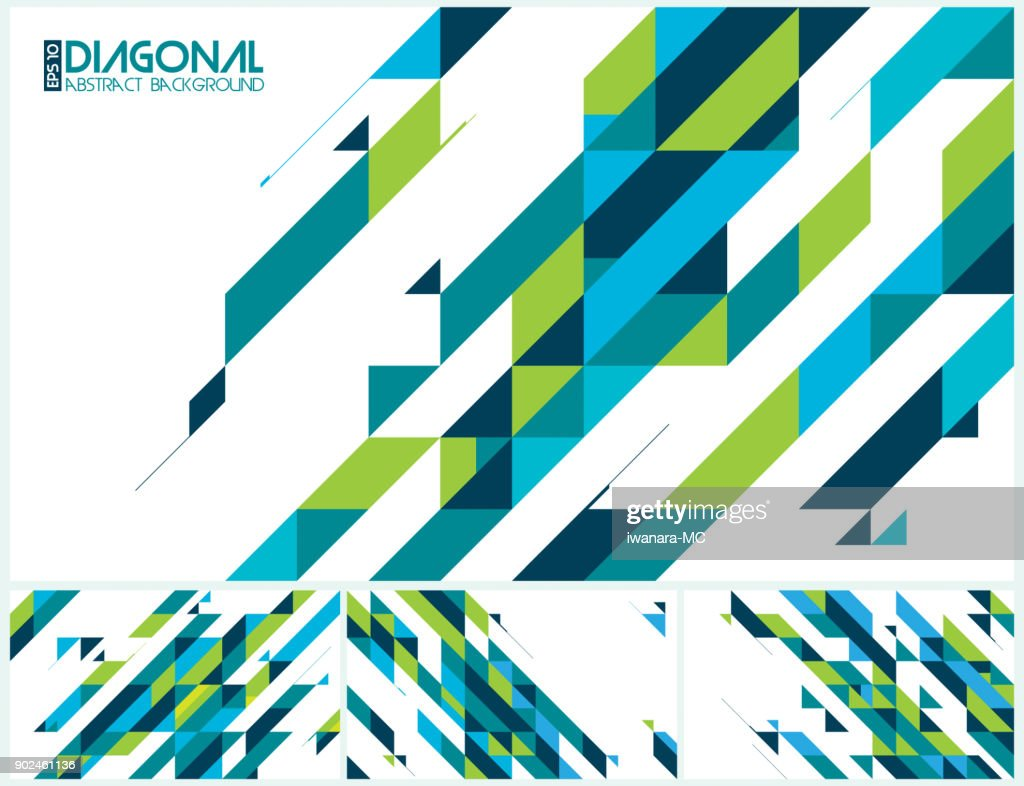 Modern diagonal abstract background