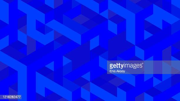 modern diagonal abstract background with geometric shapes - slide show stock illustrations
