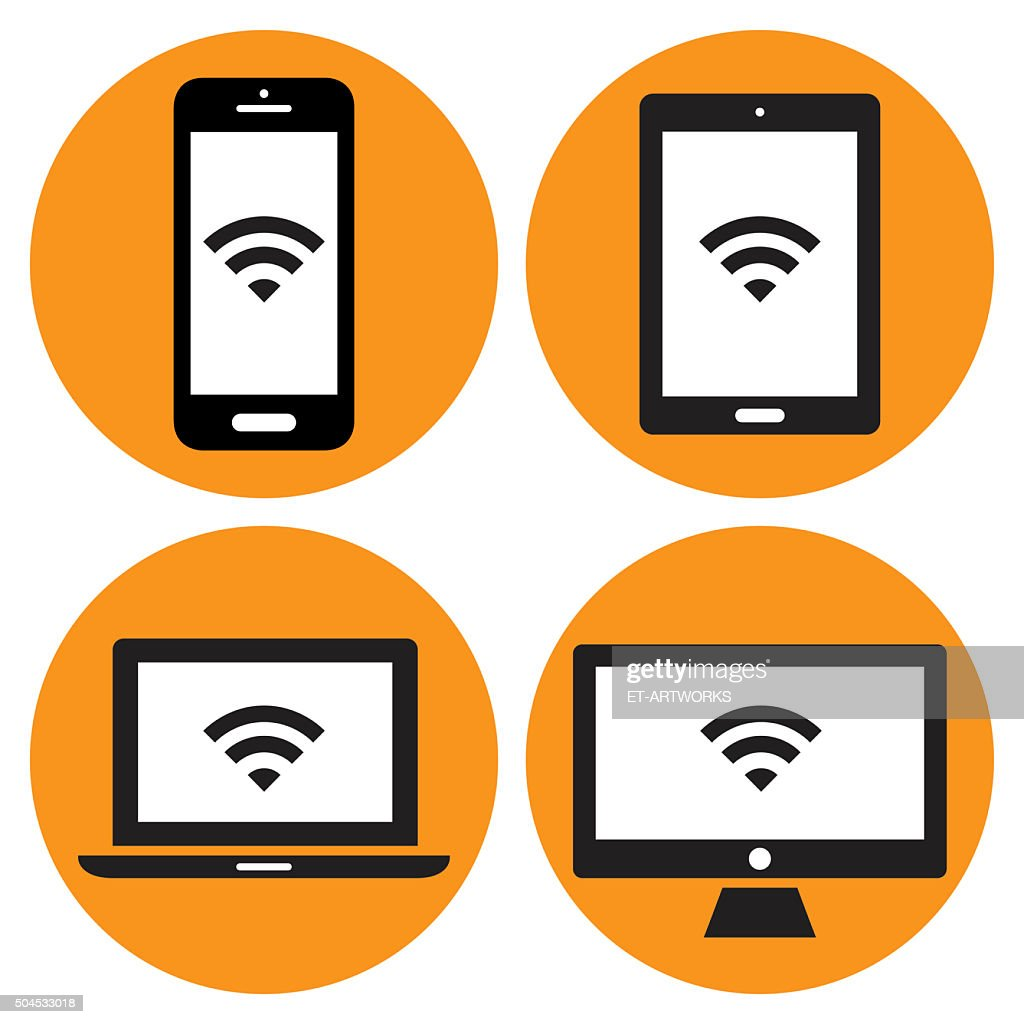 Modern Digital devices icons