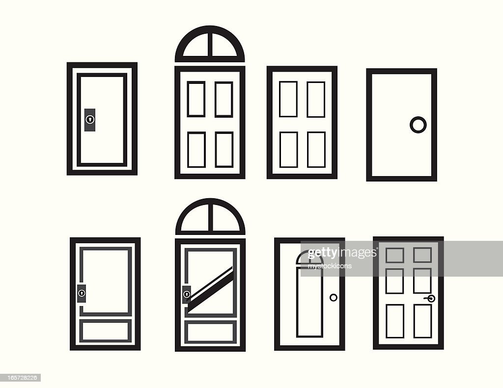 Modern Doorway Icons