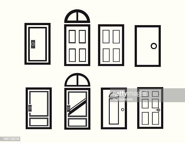 Modern Doorway Icons
