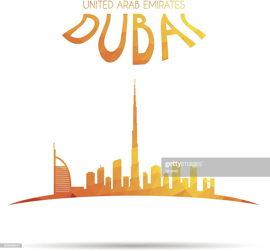 Modern Dubai Cityscape