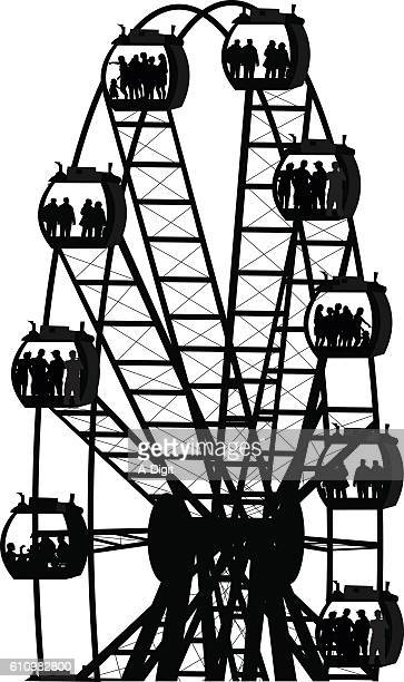 Modern Ferris Wheel Attraction