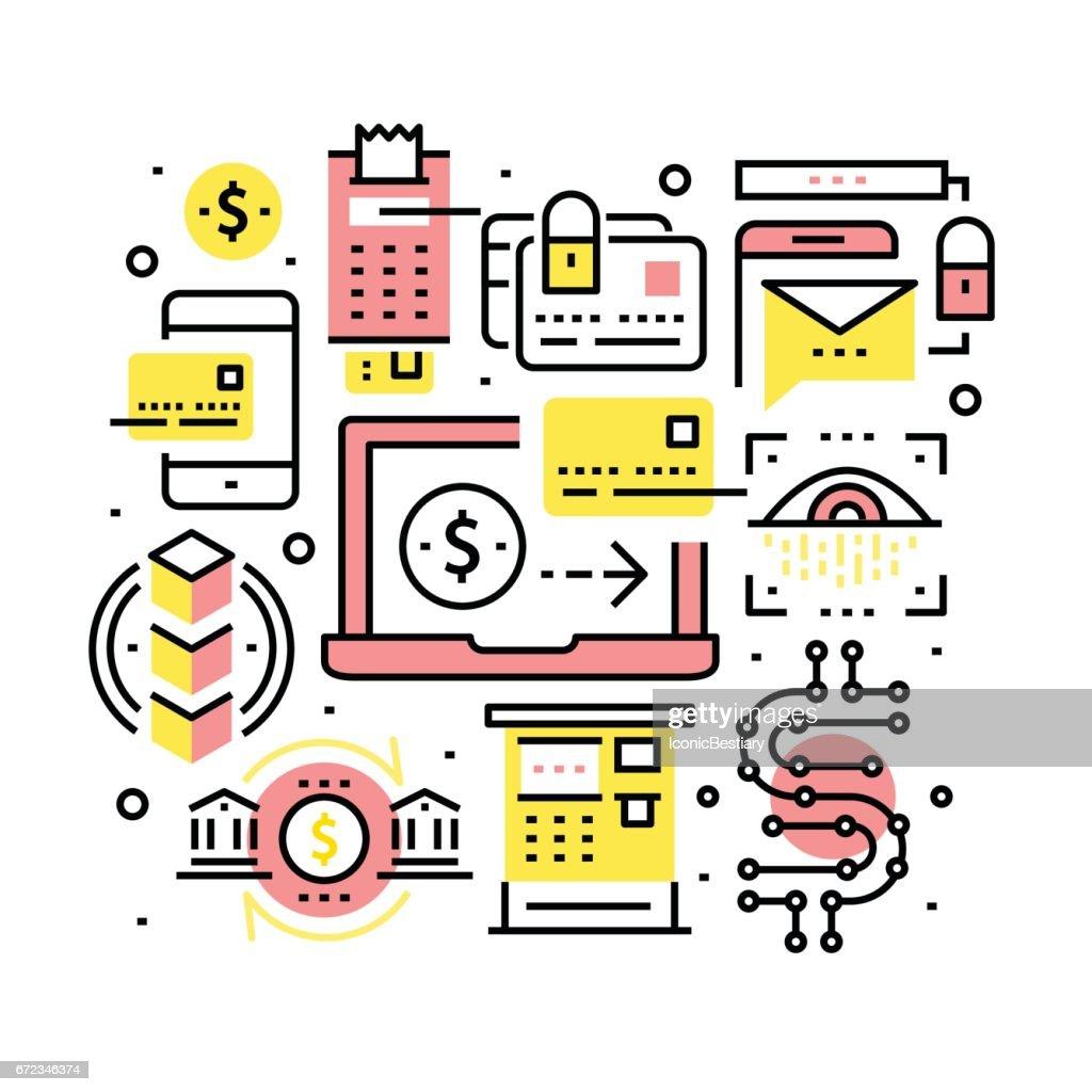 Modern financial transactions technology