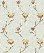 Modern floral seamless pattern for your design