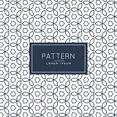 modern flower line pattern background