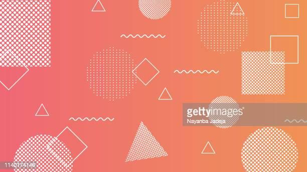 現代幾何学抽象的背景 - 幸運点のイラスト素材/クリップアート素材/マンガ素材/アイコン素材