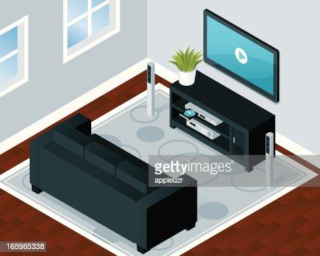 Modern Home Entertainment Room