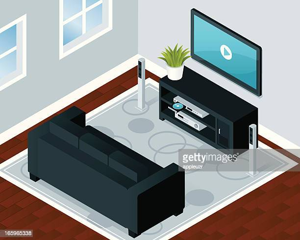 Modern Home Entertainment Room