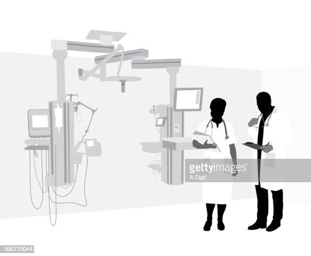 近代病院の設備