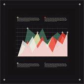 Modern infographics diagram template