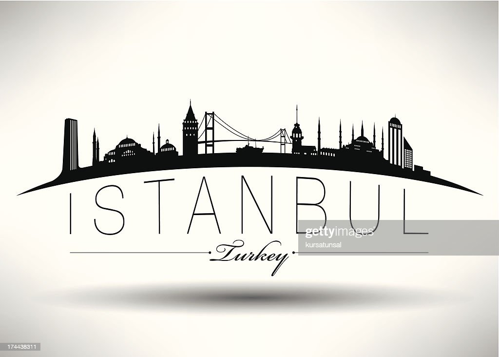 Modern Istanbul Silhouette Design