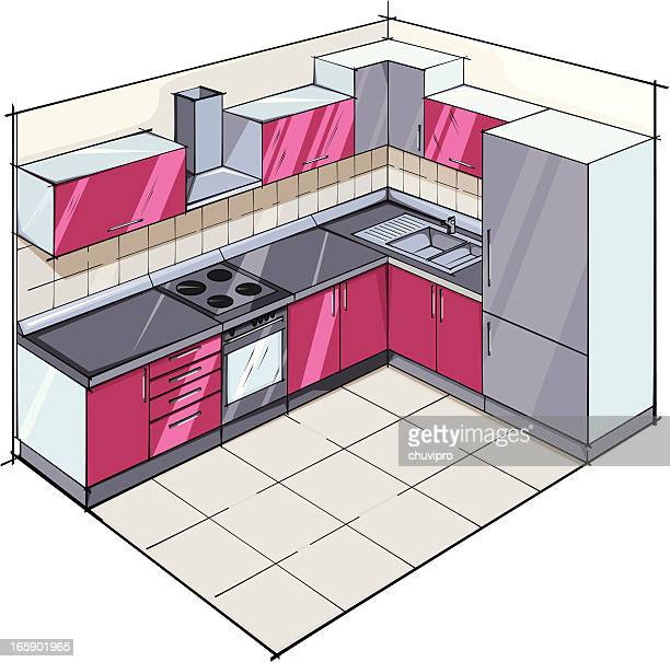 ilustrações, clipart, desenhos animados e ícones de cozinha moderna - exhaust fan