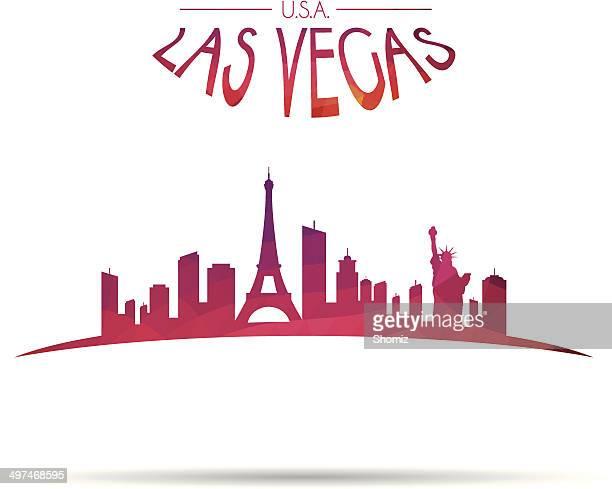 Modern Las Vegas cityscape