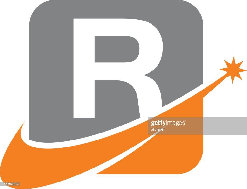 Modern Logo Solution Letter R