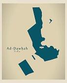Modern Map - Ad-Dawhah QA
