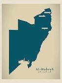 Modern Map - Al-Wakrah QA