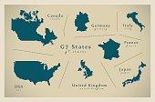 Modern Map - G7 States