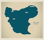 Modern Map - Halab SY