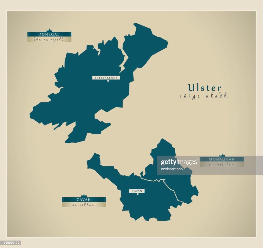 Modern Map - Ulster IE