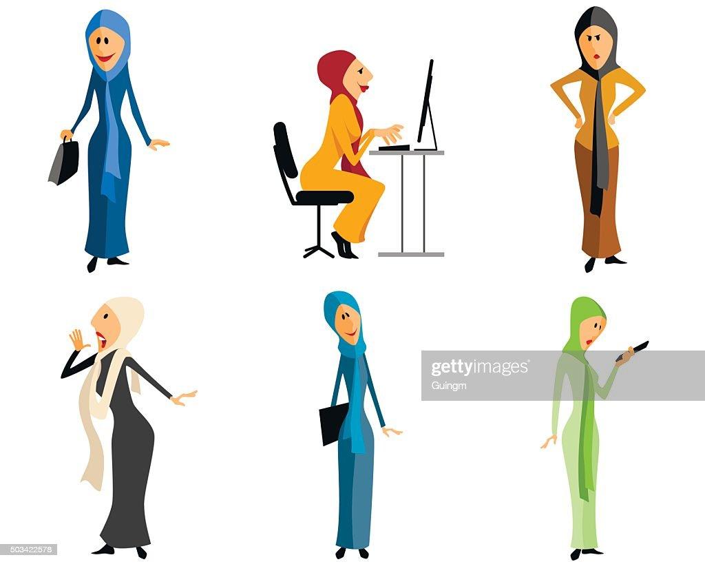 Modern muslim girls