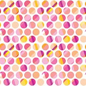 modern polka dot seamless pattern, concept surface design for background, fabric, wallpaper. geometry dots repeatable motif fun vector illustration on whute background