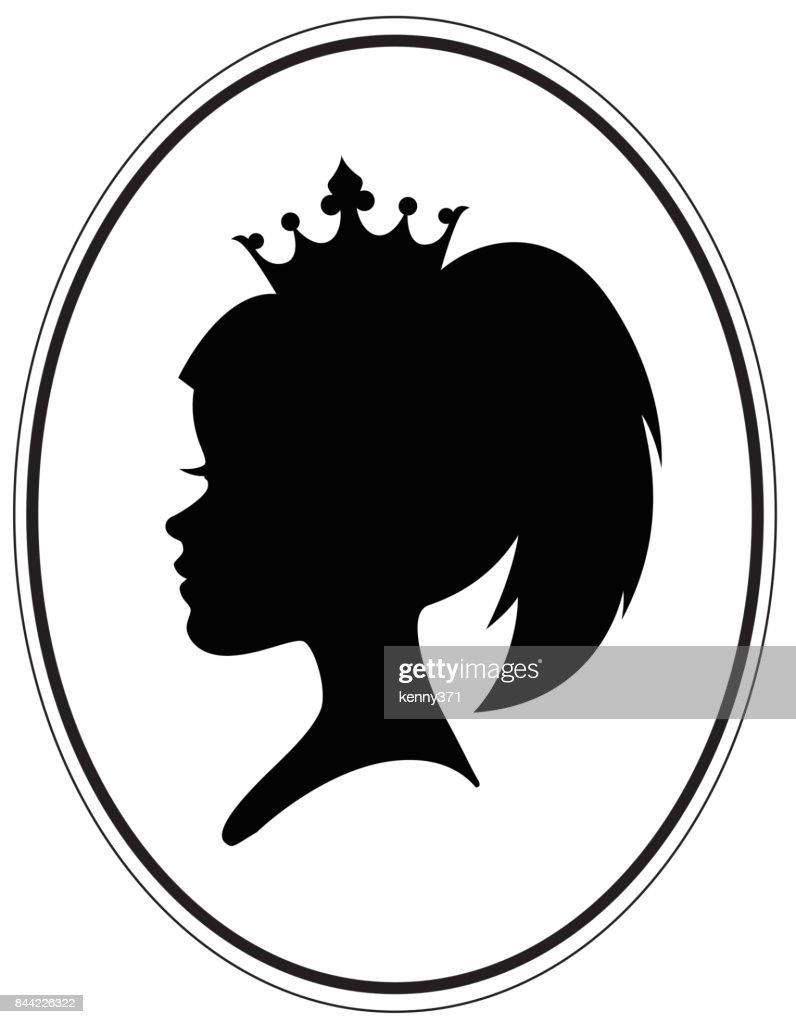Modern ponytail crown