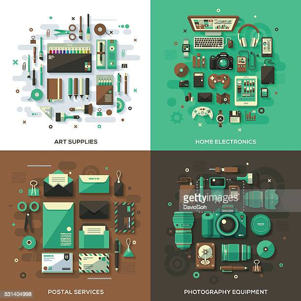 Modern Products & Services Concepts