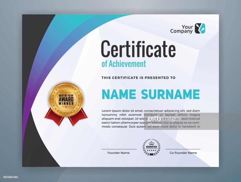 Ziemlich Moderne Zertifikatvorlage Bilder - zertifizierungsstelle ...