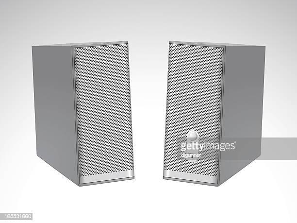 Modern satellite speakers