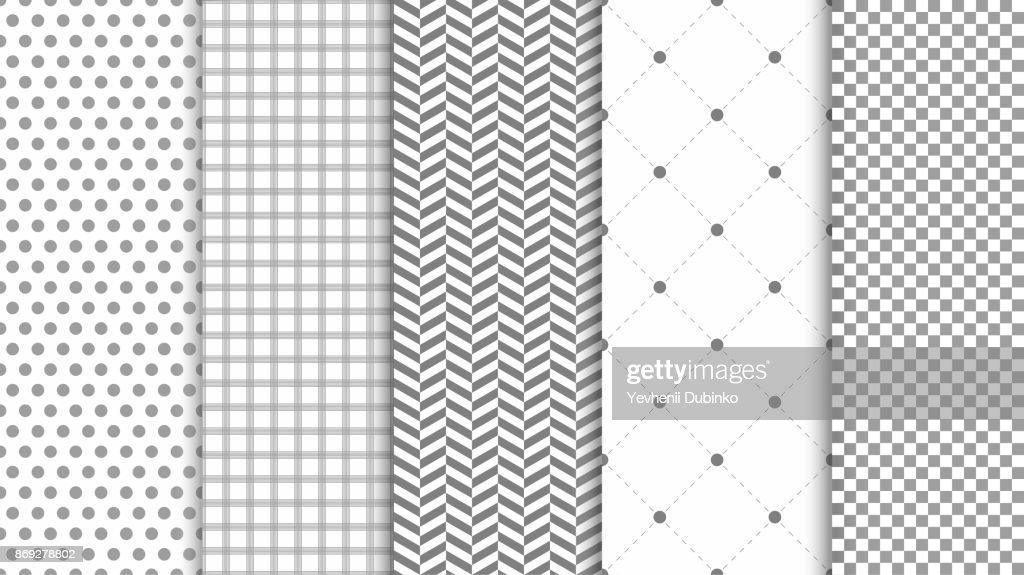 Modern seamless pattern background. Abstract set for elegant design, fashion universal background