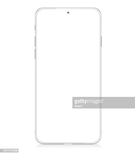 modern smartphone mockup - model object stock illustrations